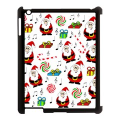 Xmas Song Apple Ipad 3/4 Case (black) by Valentinaart