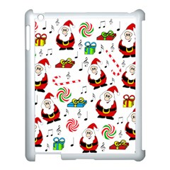 Xmas Song Apple Ipad 3/4 Case (white) by Valentinaart