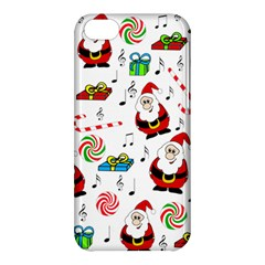 Xmas Song Apple Iphone 5c Hardshell Case by Valentinaart