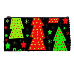 Merry Xmas Pencil Cases by Valentinaart