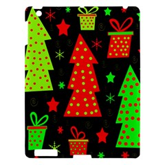 Merry Xmas Apple Ipad 3/4 Hardshell Case by Valentinaart