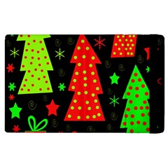 Merry Xmas Apple Ipad 3/4 Flip Case by Valentinaart