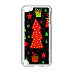 Merry Xmas Apple Ipod Touch 5 Case (white) by Valentinaart