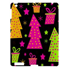 Colorful Xmas Apple Ipad 3/4 Hardshell Case by Valentinaart