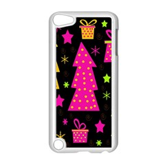 Colorful Xmas Apple Ipod Touch 5 Case (white) by Valentinaart