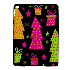 Colorful Xmas Ipad Air 2 Hardshell Cases by Valentinaart