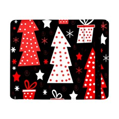 Red Playful Xmas Samsung Galaxy Tab Pro 8 4  Flip Case by Valentinaart