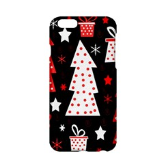 Red Playful Xmas Apple Iphone 6/6s Hardshell Case by Valentinaart