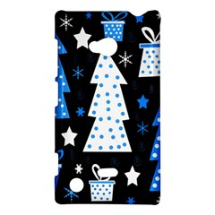 Blue Playful Xmas Nokia Lumia 720 by Valentinaart