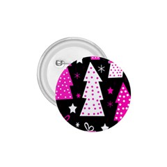 Pink playful Xmas 1.75  Buttons by Valentinaart