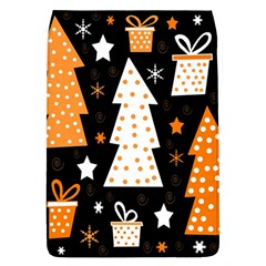Orange Playful Xmas Flap Covers (l)  by Valentinaart