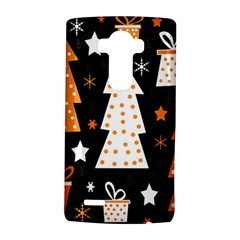 Orange Playful Xmas Lg G4 Hardshell Case by Valentinaart