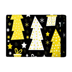 Yellow Playful Xmas Apple Ipad Mini Flip Case by Valentinaart