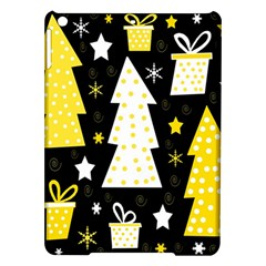 Yellow Playful Xmas Ipad Air Hardshell Cases by Valentinaart