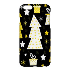 Yellow Playful Xmas Apple Iphone 6 Plus/6s Plus Hardshell Case by Valentinaart
