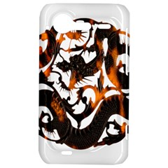 Ornament Dragons Chinese Art HTC Incredible S Hardshell Case  by Zeze