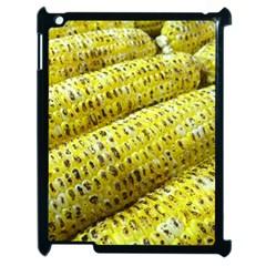 Corn Grilled Corn Cob Maize Cob Apple iPad 2 Case (Black) by Zeze
