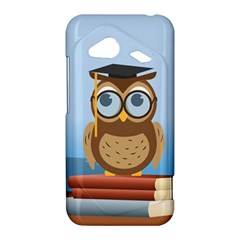 Read Owl Book Owl Glasses Read HTC Droid Incredible 4G LTE Hardshell Case by Zeze