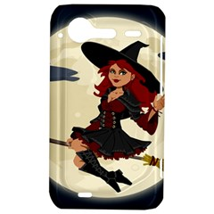 Witch Witchcraft Broomstick Broom HTC Incredible S Hardshell Case  by Zeze