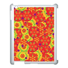 Orange Design Apple Ipad 3/4 Case (white) by Valentinaart