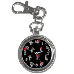 Drake Ugly Holiday Christmas Key Chain Watches by Onesevenart
