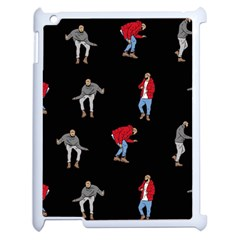 Drake Ugly Holiday Christmas Apple Ipad 2 Case (white) by Onesevenart