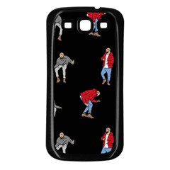 Drake Ugly Holiday Christmas Samsung Galaxy S3 Back Case (black) by Onesevenart