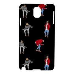 Drake Ugly Holiday Christmas Samsung Galaxy Note 3 N9005 Hardshell Case by Onesevenart