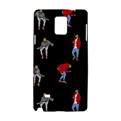 Drake Ugly Holiday Christmas Samsung Galaxy Note 4 Hardshell Case by Onesevenart