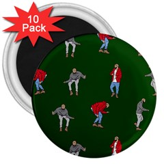 Drake Ugly Holiday Christmas 2 3  Magnets (10 Pack)  by Onesevenart