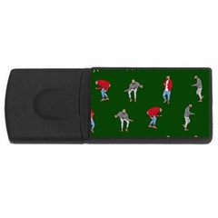 Drake Ugly Holiday Christmas 2 Usb Flash Drive Rectangular (4 Gb)  by Onesevenart