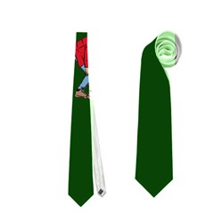 Drake Ugly Holiday Christmas 2 Neckties (two Side)  by Onesevenart