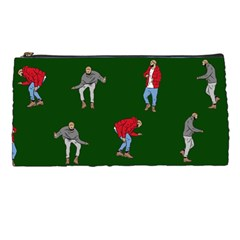 Drake Ugly Holiday Christmas 2 Pencil Cases by Onesevenart