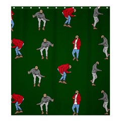 Drake Ugly Holiday Christmas 2 Shower Curtain 66  X 72  (large)  by Onesevenart