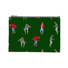Drake Ugly Holiday Christmas 2 Cosmetic Bag (Large)  by Onesevenart