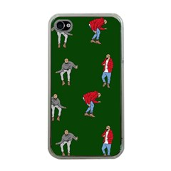 Drake Ugly Holiday Christmas 2 Apple Iphone 4 Case (clear) by Onesevenart