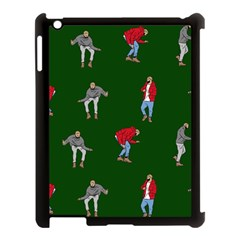 Drake Ugly Holiday Christmas 2 Apple Ipad 3/4 Case (black) by Onesevenart