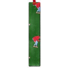 Drake Ugly Holiday Christmas 2 Large Book Marks by Onesevenart