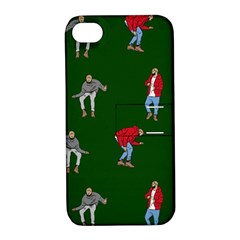 Drake Ugly Holiday Christmas 2 Apple Iphone 4/4s Hardshell Case With Stand by Onesevenart