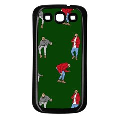 Drake Ugly Holiday Christmas 2 Samsung Galaxy S3 Back Case (black) by Onesevenart