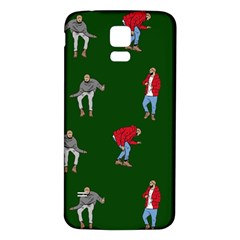 Drake Ugly Holiday Christmas 2 Samsung Galaxy S5 Back Case (white) by Onesevenart