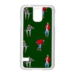 Drake Ugly Holiday Christmas 2 Samsung Galaxy S5 Case (white) by Onesevenart