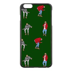 Drake Ugly Holiday Christmas 2 Apple Iphone 6 Plus/6s Plus Black Enamel Case by Onesevenart