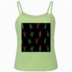 Drake Ugly Holiday Christmas Green Spaghetti Tank by Onesevenart