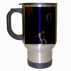 Drake Ugly Holiday Christmas Travel Mug (silver Gray) by Onesevenart