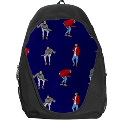 Drake Ugly Holiday Christmas Backpack Bag by Onesevenart