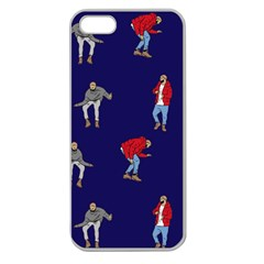 Drake Ugly Holiday Christmas Apple Seamless Iphone 5 Case (clear) by Onesevenart