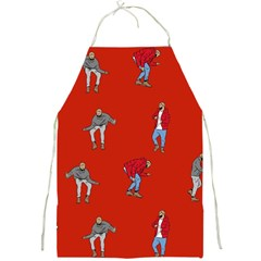 Drake Ugly Holiday Christmas   Full Print Aprons by Onesevenart