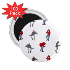 Drake Ugly Holiday Christmas 2 25  Magnets (100 Pack)  by Onesevenart