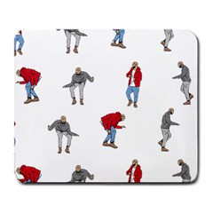 Drake Ugly Holiday Christmas Large Mousepads by Onesevenart